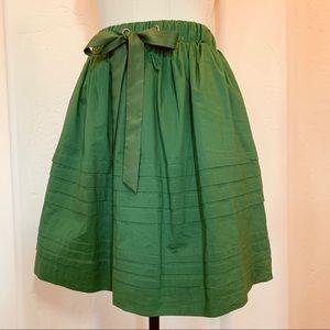 Anthropologie Full Skirt in Vert